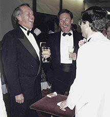 Hall of Famer Brooks Robinson and fromer relief pitcher Sparky Lyle